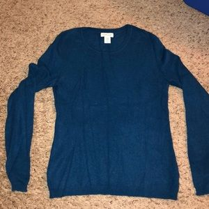 Cashmere sweater teal